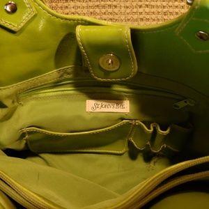 St. John's Bay Bags - St John's bay green purse with change purse